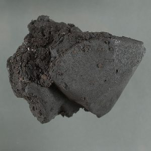 Black tar moisture looking substance